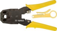 Купить Клещи TOPEX для обжима 32D409