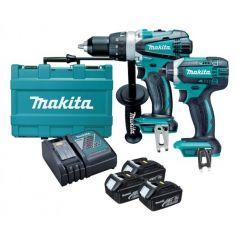 Купить Набор электроинструмента Makita DLX2145X1