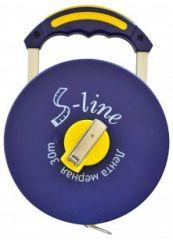 Купить Лента измерительная с ручкой S-line 15-381 50 м