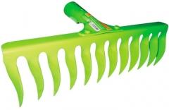 Купити Граблі виті з держаком Verano 70-828 12 зубців
