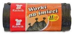 Купить Пакеты для мусора HDPE KUCHCIK  67-00-2712 35л