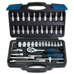 Купить Набор головок и насадок 4-14 мм Berg 52-106 45 шт