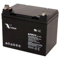 Купить Аккумуляторная батарея Vision FM 33Ah 6FM33E-X