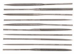 Купить Надфили игольчатые по металлу TOPEX 10 шт. 06A020