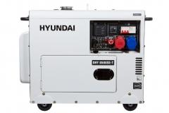 Купить Генератор Hyundai DHY 8500SE-T