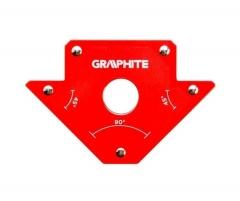 Купить Магнитный сварочный угольник GRAPHITE 56H902