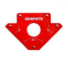 Купить Магнитный сварочный угольник GRAPHITE 56H903