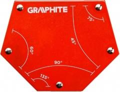 Купить Магнитный сварочный угольник GRAPHITE 56H905