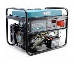 Купить Генератор бензиновый Konner&Sohnen KS 7000E-3