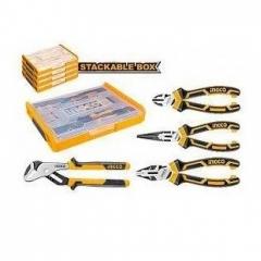 Купить Набор шарнирно-губцевого инстр. INGCO HKTV01P042
