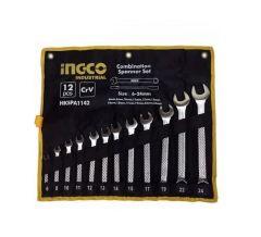 Купить Комплект ключей гаечных INGCO HKSPA1142 12 шт