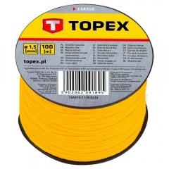 Купить Шнур каменщика разметочный Topex 1.5 мм на катушке