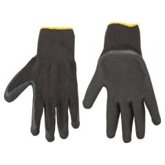Купить Перчатки Topex х/бз латексным покрытием размер 10