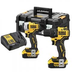 Купить Набор из двух инструментов DeWALT DCK2062M2T