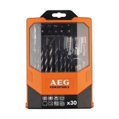 Купить Набор сверл и отверточных насадок AEG 4932430410