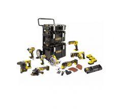 Купить Набор из восьми инструментов DeWALT DCK853P4