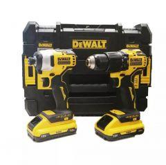 Купить Набор из двух инструментов DeWALT DCK2062L2T
