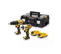 Купить Набор из двух инструментов DeWALT DCK2060D2T