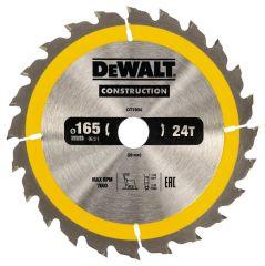 Купить Диск пильный DeWALT DT1934 165х20 мм 24z
