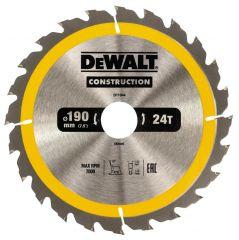 Купить Диск пильный DeWALT DT1944 190х30 мм 24z
