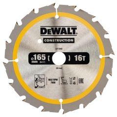 Купить Диск пильный DeWALT DT1948 165х20 мм 16z