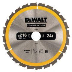 Купить Диск пильный DeWALT DT1952 216х30 мм 24z