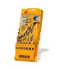 Купить Набор сверл по металлу INGCO AKD1075 7 шт
