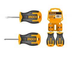 Купить Набор отверток коротких INGCO HKSDS2028 2 шт S2