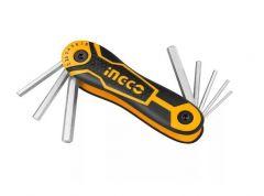 Купить Комплект ключей INGCO HHK14083 8 шт Т9-Т40