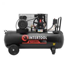 Купить Компрессор Intertool PT-0012 100 л, 1.8 кВт
