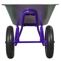 Купить Тачка двухколесная Vitals 100/250-3 фиолетовая