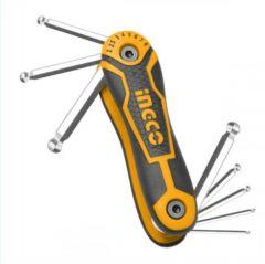 Купить Набор ключей шестигранных INGCO HHK14081 8шт 2-8мм