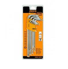 Купить Комплект ключей удлиненных INGCO HHK13092 9 шт