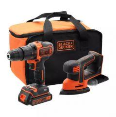 Купить Набор из 2-х инструментов BLACK&DECKER BCK23S1S