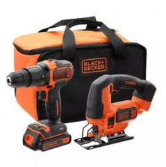 Купить Набор из 2-х инструментов BLACK&DECKER BCK22S1S