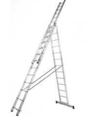 Купить Лестница 3 секционная Stark 525380504 SVHR 3х9