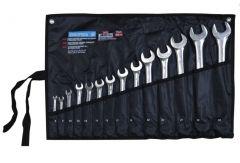 Купить Набор ключей рожково-накидных Berg 48-973 Cr-V 14шт 6-32мм