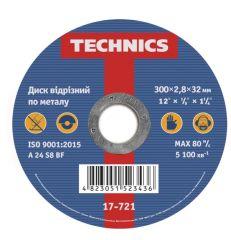 Купити Диск відрізний пометалу Technics 17-721 300х2,8х32