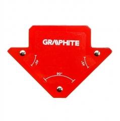 Купить Магнитный сварочный угольник GRAPHITE 56H901