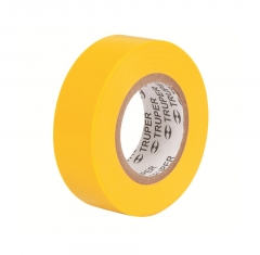 Купить Изолента TRUPER M-33A желтая 19мм х 18м