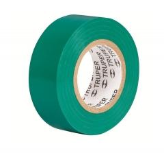 Купить Изолента TRUPER M-33V зеленая 19мм х 18м