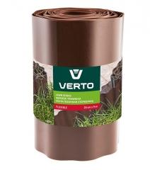 Купить Лента газонная VERTO 15G515 20 cm x 9 m коричневая