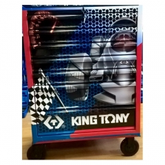 Купить Тумба на колесах KING TONY 87434-7BUT 7 ящиков