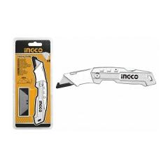 Купить Нож складной алюминиевый INGCO HUK6138