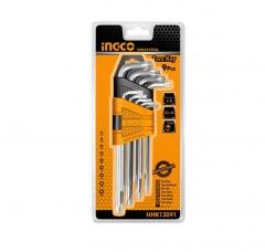 Купить Комплект ключей INGCO HHK13091 9 шт Т10-Т50