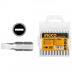 Купить Биты INGCO SDB11SL413 S2 SL6*1.0х25 мм 20 шт