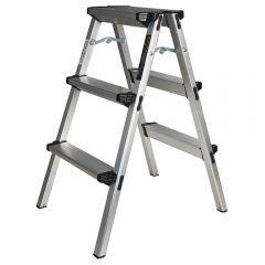Купить Лестница алюминиевая двухсторонняя Кентавр 3Д