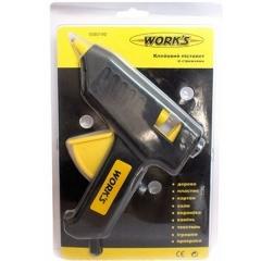 Купить Пистолет клеевой WORK`S 40W 34811