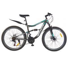 Купить Велосипед SPARK ATOM 26-ST-18-AM2-D (Серый с зеленым)