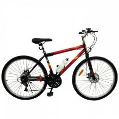 Купить Велосипед SPARK RIDE ROMB D.21 26-ST-18-ZV-D (Черный с красным)